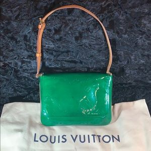 🎄CUSTOM🎄LOUIS VUITTON Vernis Leather Thompson St
